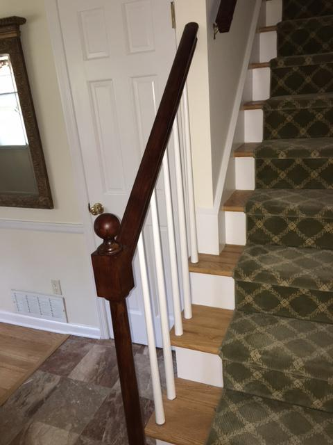 Gel staining railing and Delmar New York